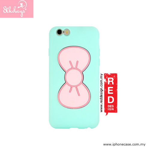 Picture of 8thdays Pretty Bowtie Series Standable Case for iPhone 6 4.7 - Mint Apple iPhone 6 4.7- Apple iPhone 6 4.7 Cases, Apple iPhone 6 4.7 Covers, iPad Cases and a wide selection of Apple iPhone 6 4.7 Accessories in Malaysia, Sabah, Sarawak and Singapore