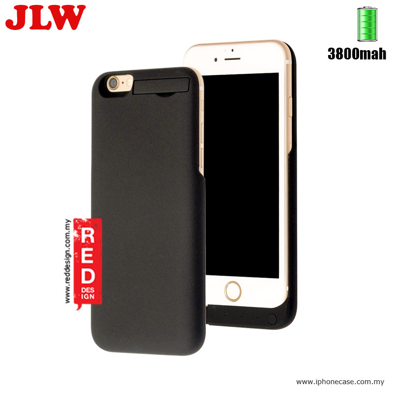 Picture of JLW Power Pack iPhone 6 iPhone 6S 4.7 External Power Bank Cover Case 3800 mah - Black Apple iPhone 6S 4.7- Apple iPhone 6S 4.7 Cases, Apple iPhone 6S 4.7 Covers, iPad Cases and a wide selection of Apple iPhone 6S 4.7 Accessories in Malaysia, Sabah, Sarawak and Singapore