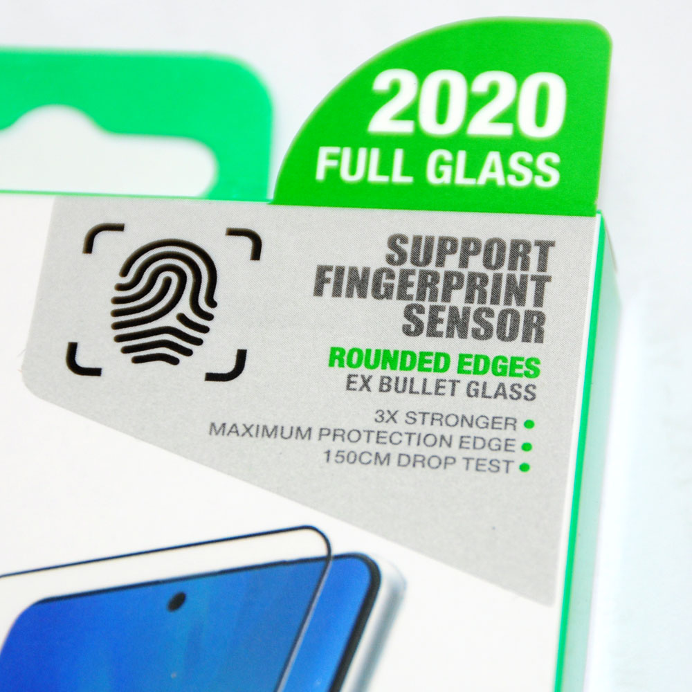 Picture of Samsung Galaxy S20 6.2 Case | AMAZINGThing Supreme Glass 3D Side Glue Glass Case Compatible for Samsung Galaxy S20 6.2 (Side Glue)