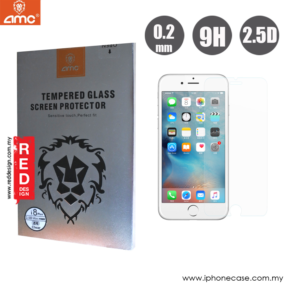 Picture of AMC Premium Tempered Glass for Apple iPhone 6S Plus iPhone 7 Plus iPhone 8 Plus 5.5 (0.2mm Clear) Apple iPhone 8 Plus- Apple iPhone 8 Plus Cases, Apple iPhone 8 Plus Covers, iPad Cases and a wide selection of Apple iPhone 8 Plus Accessories in Malaysia, Sabah, Sarawak and Singapore