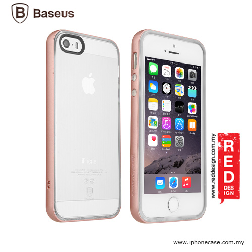 Picture of Baseus Feather Series Back Cover Case for iPhone SE iPhone 5 iPhone 5S - Rose Gold Apple iPhone SE- Apple iPhone SE Cases, Apple iPhone SE Covers, iPad Cases and a wide selection of Apple iPhone SE Accessories in Malaysia, Sabah, Sarawak and Singapore