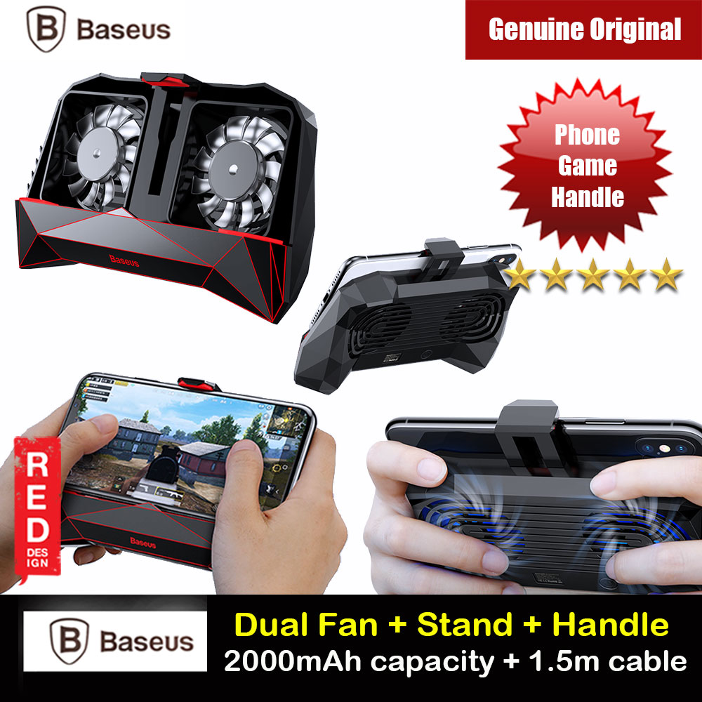 Picture of Baseus Magic Monster Games Dissipate Heat Cooling Cooler Hand Handle (Black)