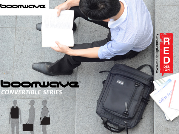 "Picture of Boomwave 3 Way Carry Convertible Series Business 14"" Laptop Bag - CS002"