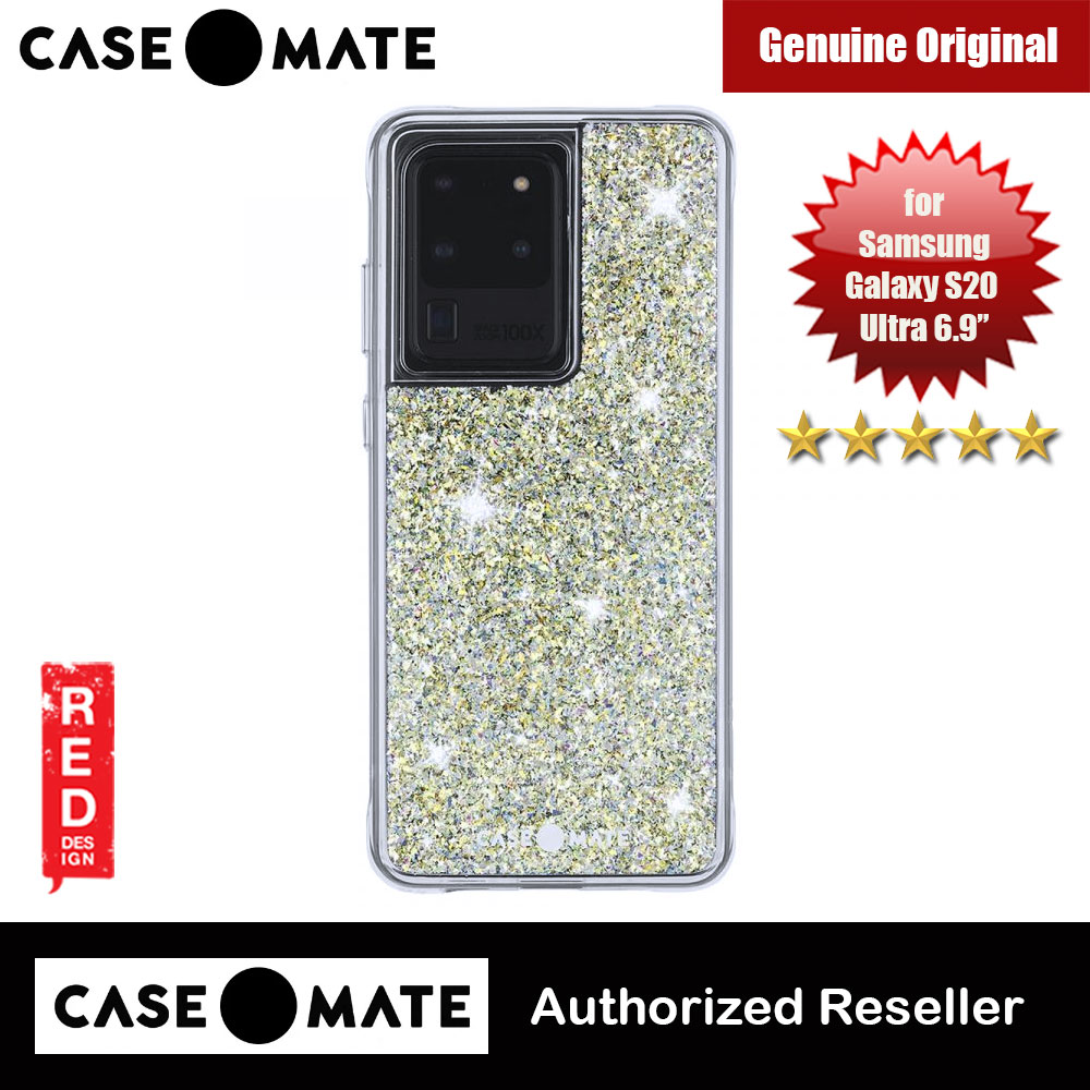 Picture of Case Mate Drop Protection Glitter Back Case for Samsung Galaxy 20 Ultra 6.9 (Twinkle Stardust) Samsung Galaxy S20 Ultra 6.9- Samsung Galaxy S20 Ultra 6.9 Cases, Samsung Galaxy S20 Ultra 6.9 Covers, iPad Cases and a wide selection of Samsung Galaxy S20 Ultra 6.9 Accessories in Malaysia, Sabah, Sarawak and Singapore
