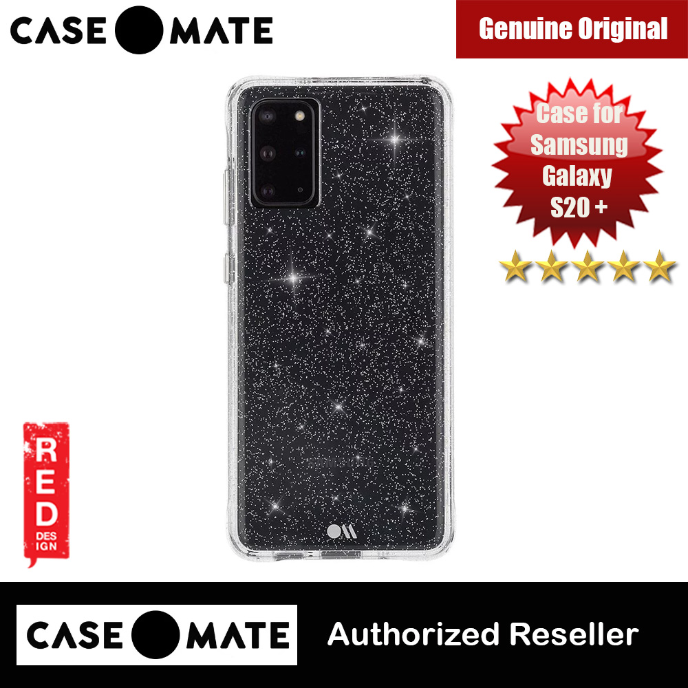 Picture of Case Mate Drop Protection Glitter Back Case for Samsung Galaxy 20 Plus 6.7 (Sheer Crystal) Samsung Galaxy S20 Plus 6.7- Samsung Galaxy S20 Plus 6.7 Cases, Samsung Galaxy S20 Plus 6.7 Covers, iPad Cases and a wide selection of Samsung Galaxy S20 Plus 6.7 Accessories in Malaysia, Sabah, Sarawak and Singapore