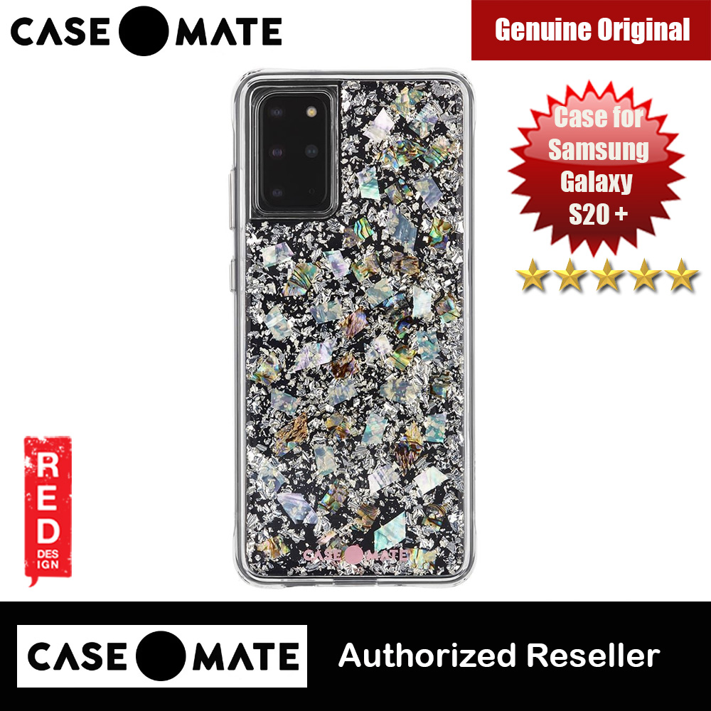 Picture of Case Mate Adorned with genuine mother of pearl elements Drop Protection Back Case for Samsung Galaxy 20 Plus 6.7 (Karat Pearl) Samsung Galaxy S20 Plus 6.7- Samsung Galaxy S20 Plus 6.7 Cases, Samsung Galaxy S20 Plus 6.7 Covers, iPad Cases and a wide selection of Samsung Galaxy S20 Plus 6.7 Accessories in Malaysia, Sabah, Sarawak and Singapore