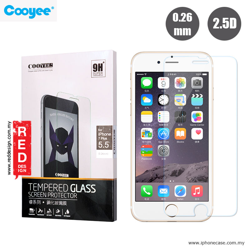Picture of Cooyee Tempered Glass for Apple iPhone 7 Plus iPhone 8 Plus 5.5 - 0.26mm Apple iPhone 8 Plus- Apple iPhone 8 Plus Cases, Apple iPhone 8 Plus Covers, iPad Cases and a wide selection of Apple iPhone 8 Plus Accessories in Malaysia, Sabah, Sarawak and Singapore