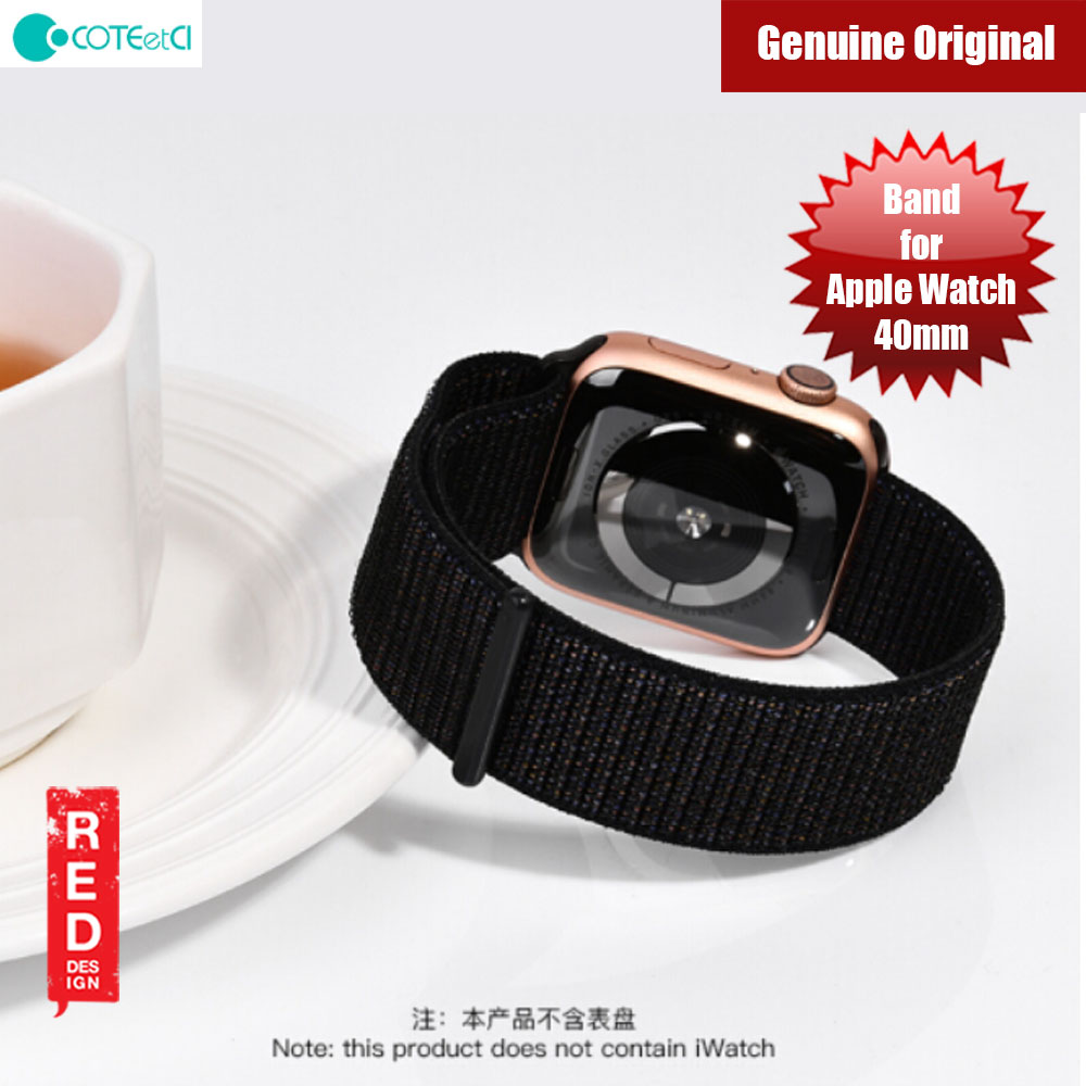 Picture of COTEetCI loop type movement watchband for Apple Watch 40mm (Black) Apple Watch 40mm- Apple Watch 40mm Cases, Apple Watch 40mm Covers, iPad Cases and a wide selection of Apple Watch 40mm Accessories in Malaysia, Sabah, Sarawak and Singapore