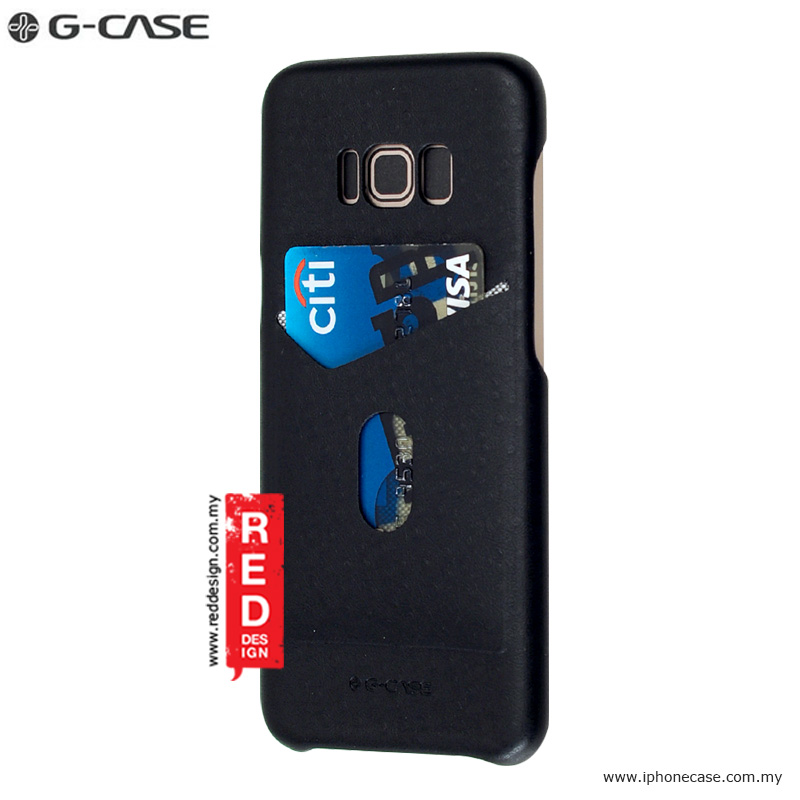 Picture of Gcase Jazz Series Card Slot Back Case for Samsung S8 - Black Samsung Galaxy S8- Samsung Galaxy S8 Cases, Samsung Galaxy S8 Covers, iPad Cases and a wide selection of Samsung Galaxy S8 Accessories in Malaysia, Sabah, Sarawak and Singapore