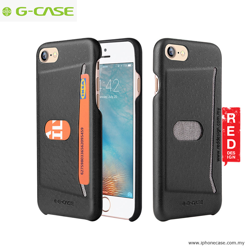 Picture of Gcase Jazz Series Card Slot Back Case for Apple iPhone 7 iPhone 8 4.7 - Black Apple iPhone 8- Apple iPhone 8 Cases, Apple iPhone 8 Covers, iPad Cases and a wide selection of Apple iPhone 8 Accessories in Malaysia, Sabah, Sarawak and Singapore