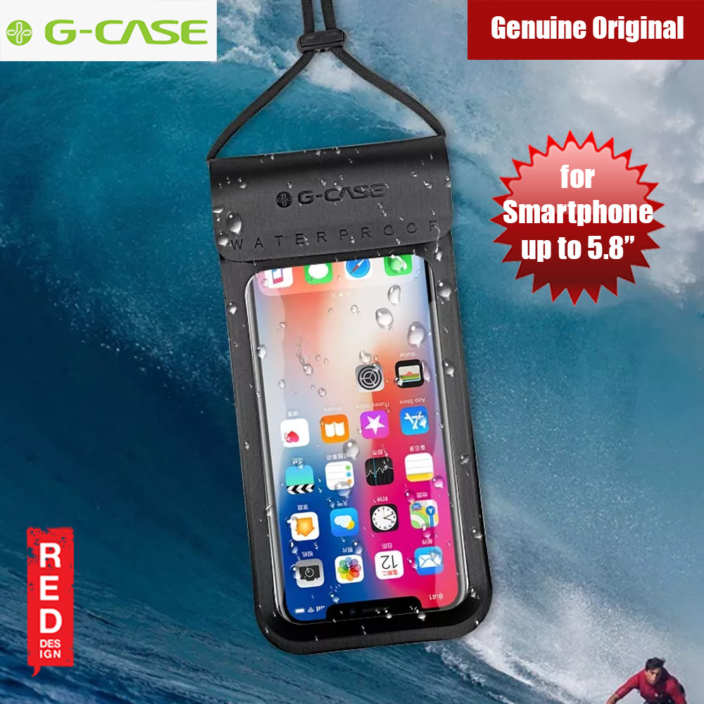 Picture of Gcase Niki Series Waterproof Bag for Apple iPhone XS iPhone 8 Plus or up to 5.8 inches (Black) Apple iPhone X- Apple iPhone X Cases, Apple iPhone X Covers, iPad Cases and a wide selection of Apple iPhone X Accessories in Malaysia, Sabah, Sarawak and Singapore