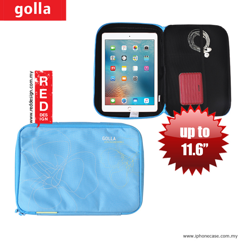 Picture of Golla Pouch Sleeve for Notebook iPad Pro 9.7, iPad Air, iPad 4 and Tablets up to 11.6 inches - Turqouise Apple New iPad 3rd Gen & 4th Gen- Apple New iPad 3rd Gen & 4th Gen Cases, Apple New iPad 3rd Gen & 4th Gen Covers, iPad Cases and a wide selection of Apple New iPad 3rd Gen & 4th Gen Accessories in Malaysia, Sabah, Sarawak and Singapore