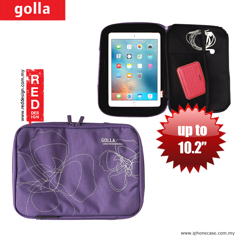 Picture of Golla Pouch Sleeve for Notebook iPad Pro 9.7, iPad Air, iPad 4 and Tablets up to 10.2 inches - Purple Apple New iPad 3rd Gen & 4th Gen- Apple New iPad 3rd Gen & 4th Gen Cases, Apple New iPad 3rd Gen & 4th Gen Covers, iPad Cases and a wide selection of Apple New iPad 3rd Gen & 4th Gen Accessories in Malaysia, Sabah, Sarawak and Singapore