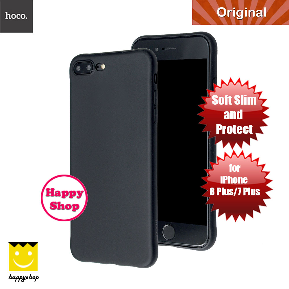 Picture of Hoco Fascination Soft TPU Slim Case for Apple iPhone 7 Plus iPhone 8 Plus 5.5 (Black) Apple iPhone 8 Plus- Apple iPhone 8 Plus Cases, Apple iPhone 8 Plus Covers, iPad Cases and a wide selection of Apple iPhone 8 Plus Accessories in Malaysia, Sabah, Sarawak and Singapore