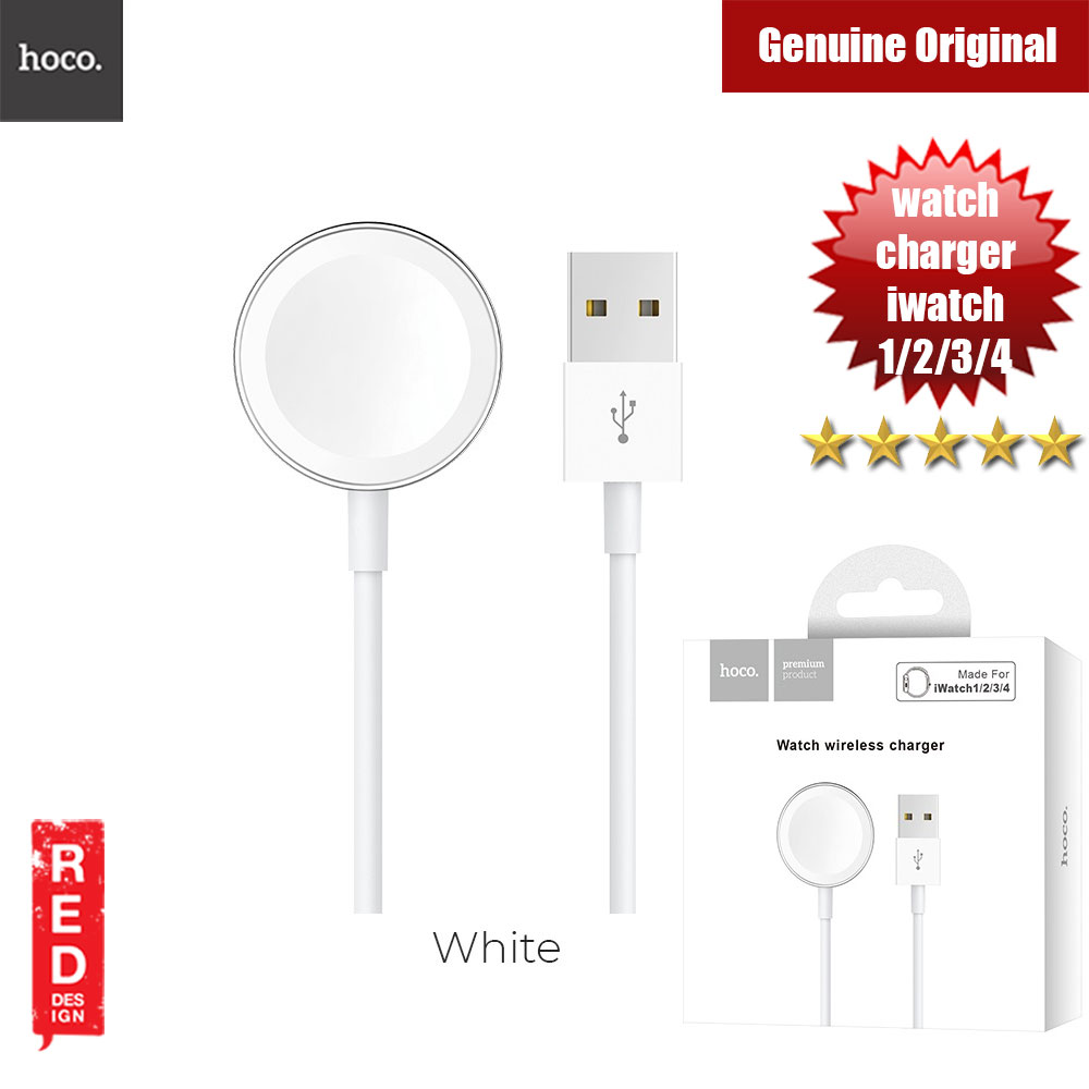 Picture of Hoco Wireless charger CW16 for Apple Watch series 1 2 3 4 (White) Apple Watch 38mm- Apple Watch 38mm Cases, Apple Watch 38mm Covers, iPad Cases and a wide selection of Apple Watch 38mm Accessories in Malaysia, Sabah, Sarawak and Singapore