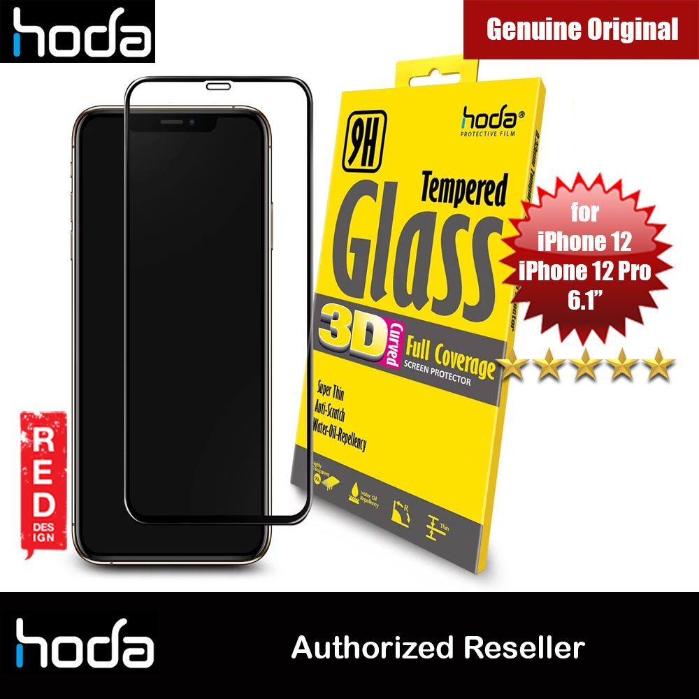 Picture of Hoda 0.33mm Full Coverage Tempered Glass Screen Protector for Apple iPhone 12 iPhone 12 Pro 6.1 Apple iPhone 12 6.1- Apple iPhone 12 6.1 Cases, Apple iPhone 12 6.1 Covers, iPad Cases and a wide selection of Apple iPhone 12 6.1 Accessories in Malaysia, Sabah, Sarawak and Singapore