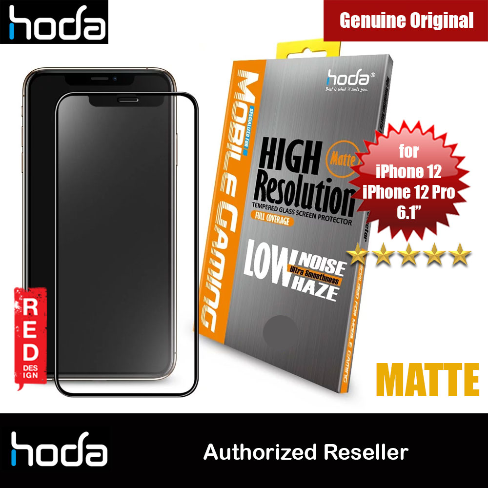 Picture of Hoda 0.33mm Full Coverage Tempered Glass Screen Protector Design for Gaming Gamer for Apple iPhone 12 iPhone 12 Pro 6.1 (Matte) Apple iPhone 12 6.1- Apple iPhone 12 6.1 Cases, Apple iPhone 12 6.1 Covers, iPad Cases and a wide selection of Apple iPhone 12 6.1 Accessories in Malaysia, Sabah, Sarawak and Singapore
