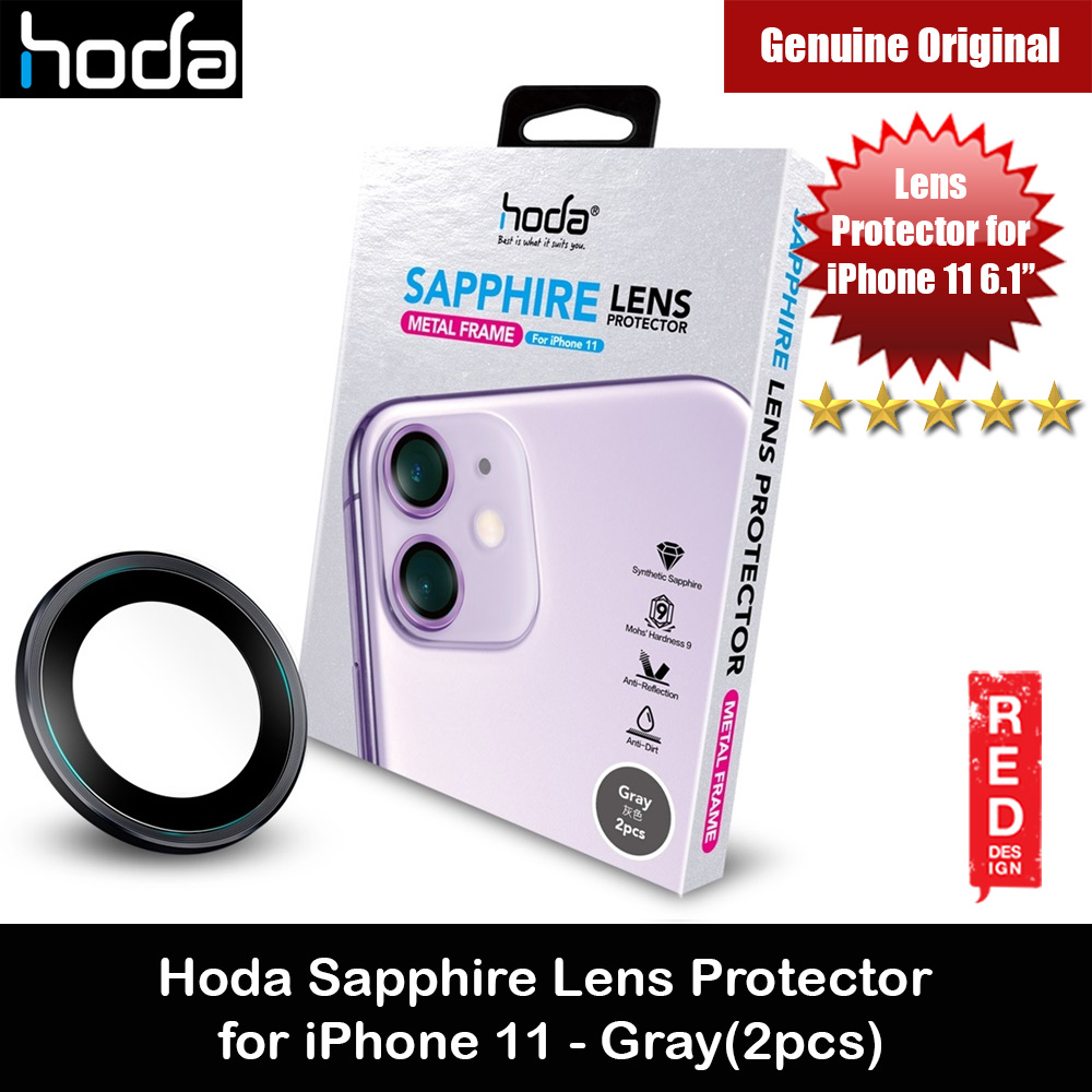 Picture of Hoda Sapphire Lens Protector for iPhone 11 6.1 (Gray) Apple iPhone 11 6.1- Apple iPhone 11 6.1 Cases, Apple iPhone 11 6.1 Covers, iPad Cases and a wide selection of Apple iPhone 11 6.1 Accessories in Malaysia, Sabah, Sarawak and Singapore
