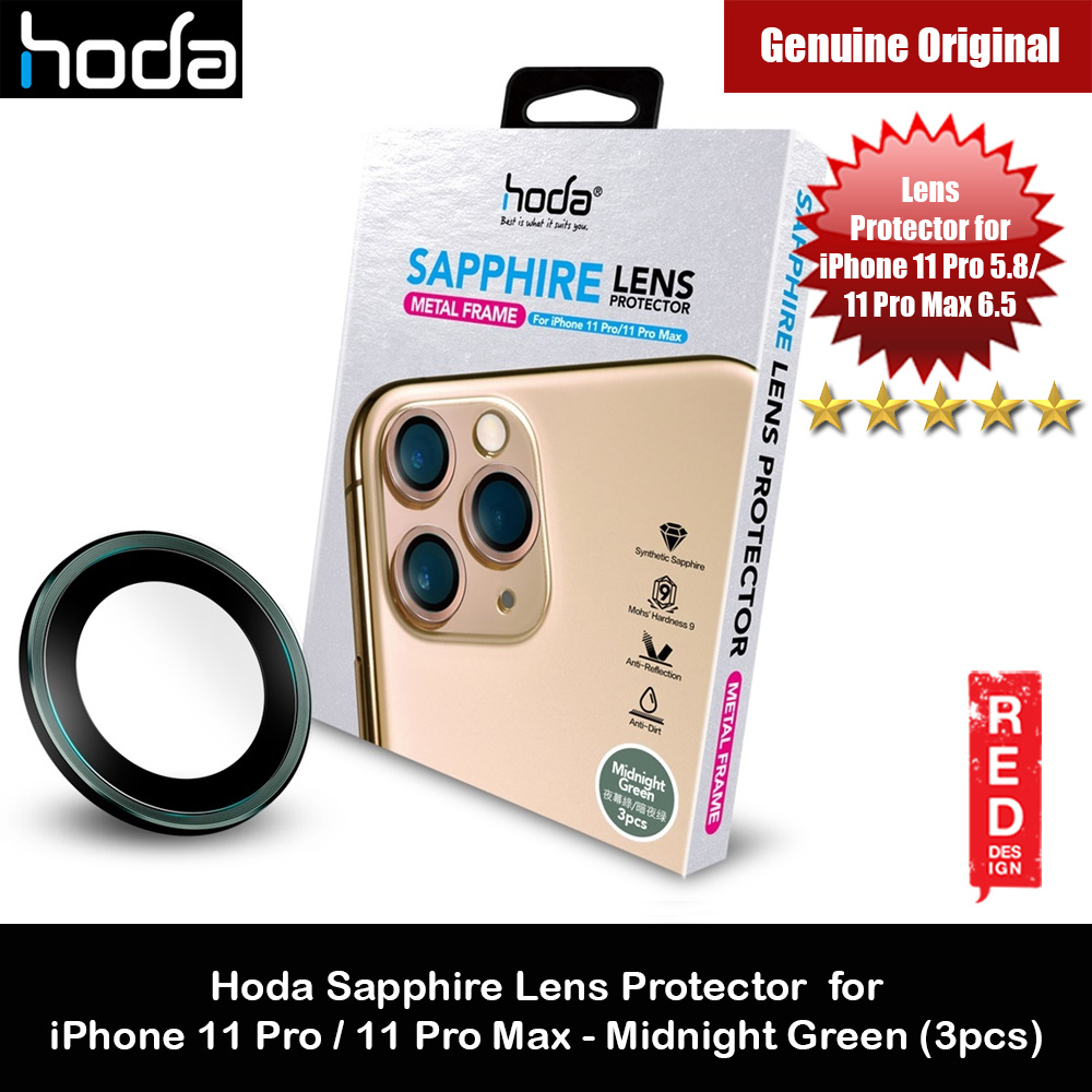 Picture of Hoda Sapphire Lens Protector for iPhone 11 Pro Max 6.5 iPhone 11 Pro 5.8  (Midnight Green) Apple iPhone 11 Pro 5.8- Apple iPhone 11 Pro 5.8 Cases, Apple iPhone 11 Pro 5.8 Covers, iPad Cases and a wide selection of Apple iPhone 11 Pro 5.8 Accessories in Malaysia, Sabah, Sarawak and Singapore