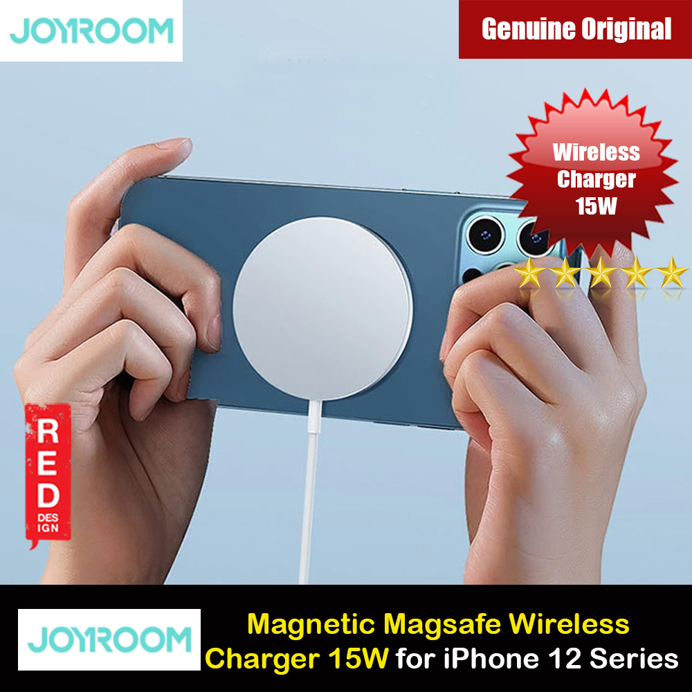 Picture of Joyroom 15W CE FCC Magnetic Magsafe Fast Portable Wireless Charger 15W For Iphone 12 iPhone 12 Pro Max Series Charger Wireless Charger Even with Phone Case iPhone Cases - iPhone 12, iPhone 12 Pro max, iPhone 11, iPhone 11 Pro Max, iPhone XS Max, iPhone X,iPhone SE,Galaxy Note 20 Ultra ,iPhone 8 Plus Cases Malaysia,iPad Air Pro Cases and a wide selection of Accessories in Malaysia, Sabah, Sarawak and Singapore.