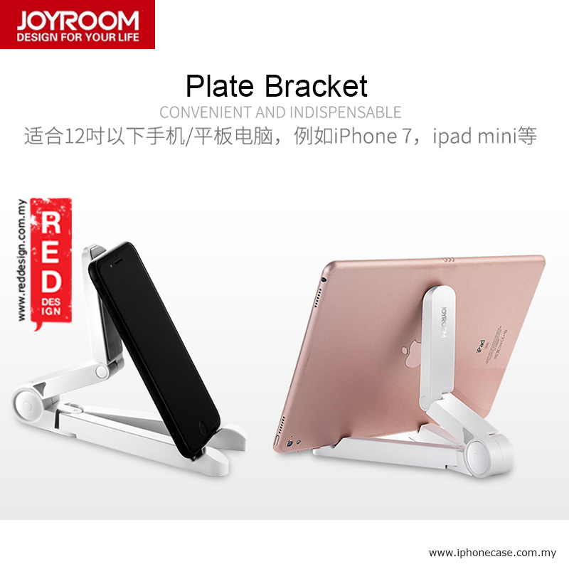 Picture of Joyroom Smartphone Tablet Stand Holder - White iPhone Cases - iPhone 12, iPhone 12 Pro max, iPhone 11, iPhone 11 Pro Max, iPhone XS Max, iPhone X,iPhone SE,Galaxy Note 20 Ultra ,iPhone 8 Plus Cases Malaysia,iPad Air Pro Cases and a wide selection of Accessories in Malaysia, Sabah, Sarawak and Singapore.
