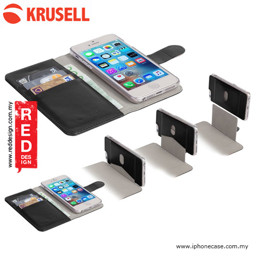 Picture of Krusell Ekero FolioWallet 2in1 Case for iPhone SE iPhone 5S iPhone 5 - Black Apple iPhone SE- Apple iPhone SE Cases, Apple iPhone SE Covers, iPad Cases and a wide selection of Apple iPhone SE Accessories in Malaysia, Sabah, Sarawak and Singapore