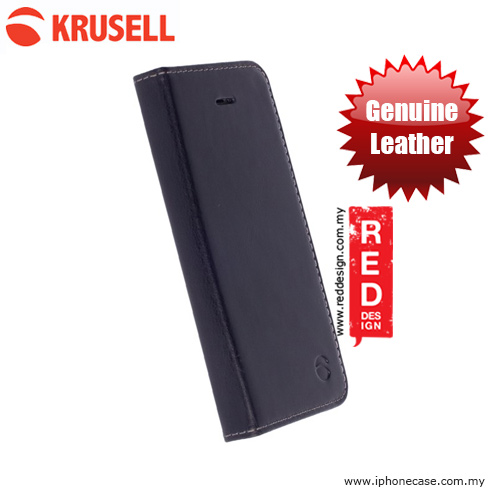 Picture of Krusell Kiruna Folio Genuine Leather Case for iPhone SE iPhone 5S iPhone 5 - Black Apple iPhone 5- Apple iPhone 5 Cases, Apple iPhone 5 Covers, iPad Cases and a wide selection of Apple iPhone 5 Accessories in Malaysia, Sabah, Sarawak and Singapore