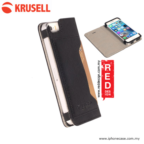 Picture of Krusell MalmoFolio Case for iPhone SE iPhone 5S iPhone 5 - Black Apple iPhone 5- Apple iPhone 5 Cases, Apple iPhone 5 Covers, iPad Cases and a wide selection of Apple iPhone 5 Accessories in Malaysia, Sabah, Sarawak and Singapore
