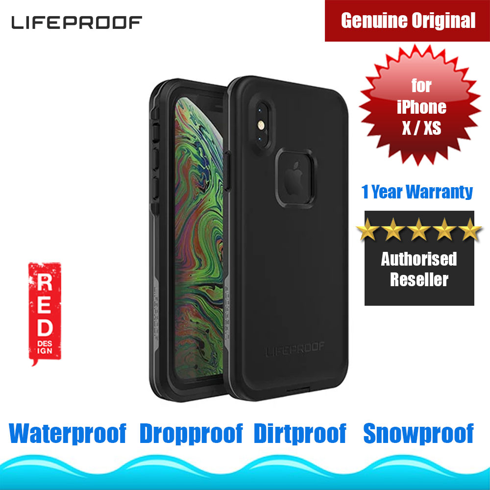 Picture of Lifeproof FRE Waterproof Drop Dirt Snow Proof Case for iPhone Xs iPhone X (Asphalt) Apple iPhone X- Apple iPhone X Cases, Apple iPhone X Covers, iPad Cases and a wide selection of Apple iPhone X Accessories in Malaysia, Sabah, Sarawak and Singapore