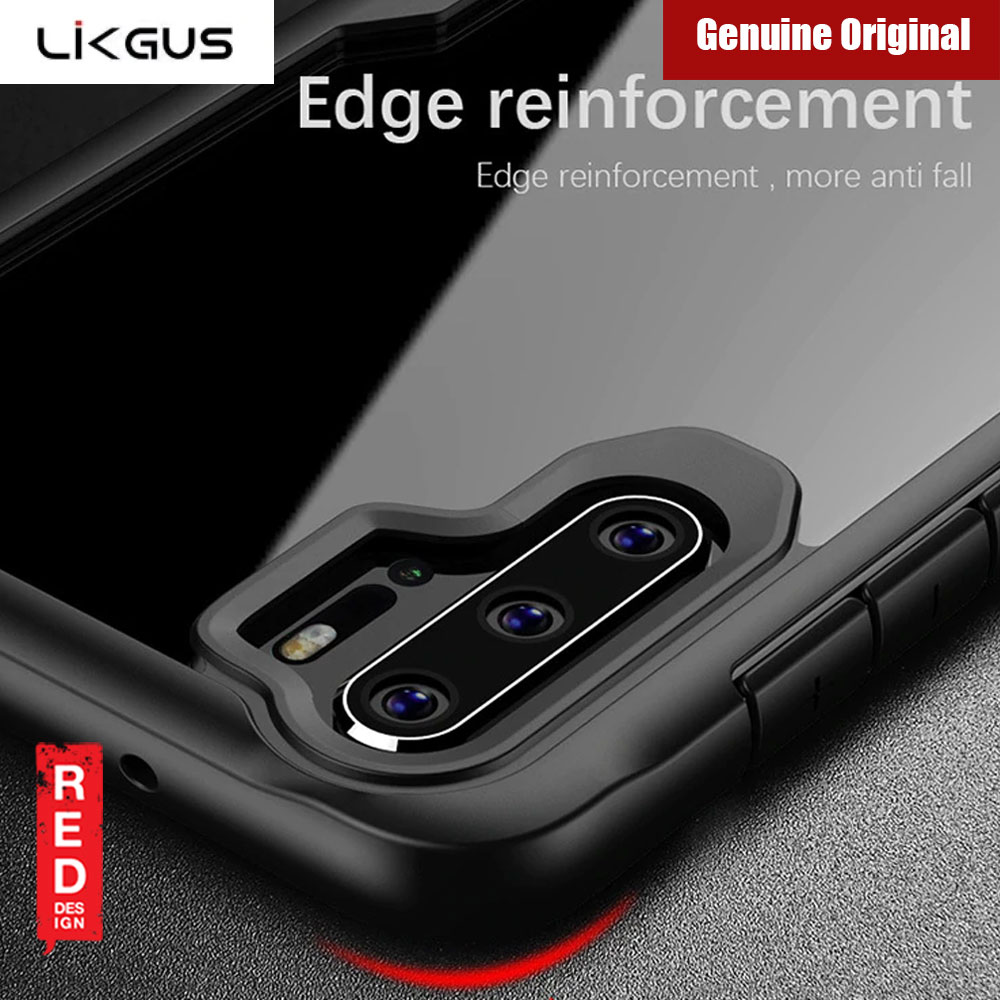 Picture of Huawei P30 Pro  | Likgus Anti knock Shockproof Protective Cover For Huawei P30 Pro (Black)