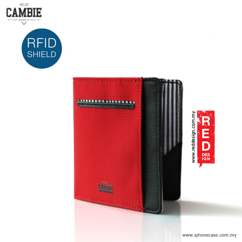 Picture of Loft of Cambie FLIP WOLYT Wallet Sleeve with RFID Protection - Red Black Red Design- Red Design Cases, Red Design Covers, iPad Cases and a wide selection of Red Design Accessories in Malaysia, Sabah, Sarawak and Singapore