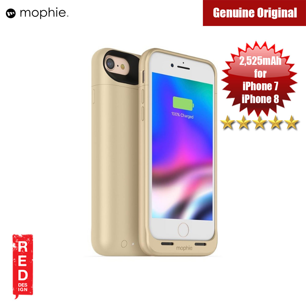 Picture of Mophie Juice Pack Air Battery Case for  Apple iPhone 7 iPhone 8 4.7 2525mAh (Gold) Apple iPhone 7 4.7- Apple iPhone 7 4.7 Cases, Apple iPhone 7 4.7 Covers, iPad Cases and a wide selection of Apple iPhone 7 4.7 Accessories in Malaysia, Sabah, Sarawak and Singapore