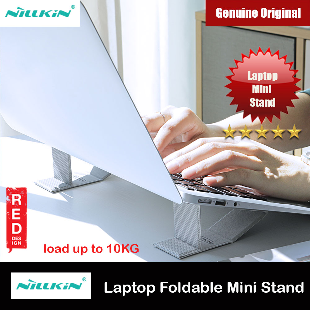 Picture of Nillkin Ascent Mini Stand Mini Laptop Foldable Stand Notebook Macbook Foldable Stand for 11 inches to 15 inches Laptop Notebook Macbook(Grey) Red Design- Red Design Cases, Red Design Covers, iPad Cases and a wide selection of Red Design Accessories in Malaysia, Sabah, Sarawak and Singapore