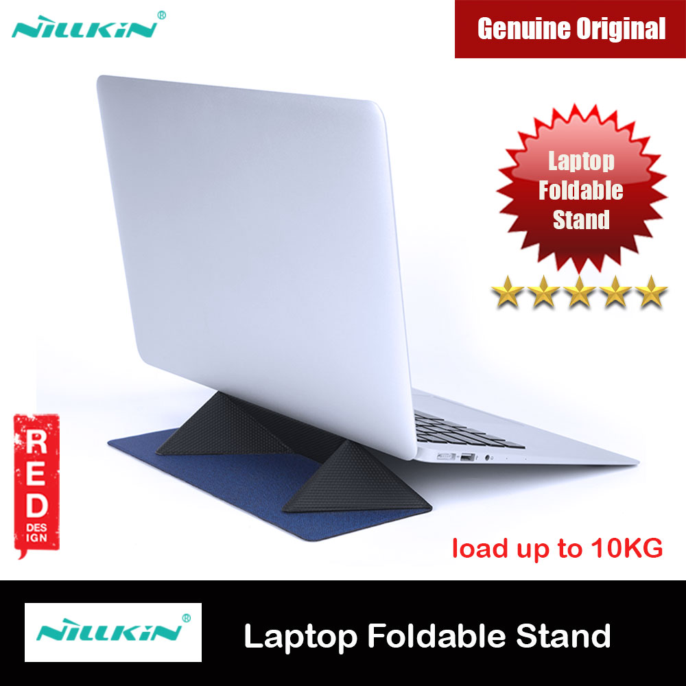 Picture of Nillkin Ascent Stand Laptop Slim Thin Foldable Stand Notebook Macbook Foldable Stand for 11 inches to 15 inches Laptop Notebook Macbook (Dark Blue) Red Design- Red Design Cases, Red Design Covers, iPad Cases and a wide selection of Red Design Accessories in Malaysia, Sabah, Sarawak and Singapore