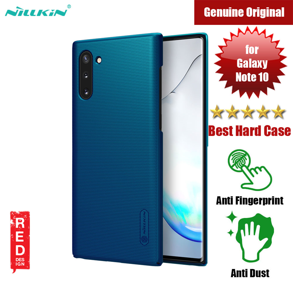 Picture of Nillkin Super Frosted Shield hard cover case for Samsung Galaxy Note 10 (Blue) Samsung Galaxy Note 10- Samsung Galaxy Note 10 Cases, Samsung Galaxy Note 10 Covers, iPad Cases and a wide selection of Samsung Galaxy Note 10 Accessories in Malaysia, Sabah, Sarawak and Singapore