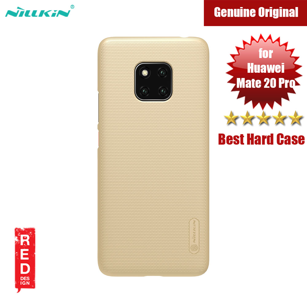 Picture of Nillkin Super Frosted Shield hard cover case for Huawei Mate 20 Pro (Gold) Huawei Mate 20 Pro- Huawei Mate 20 Pro Cases, Huawei Mate 20 Pro Covers, iPad Cases and a wide selection of Huawei Mate 20 Pro Accessories in Malaysia, Sabah, Sarawak and Singapore