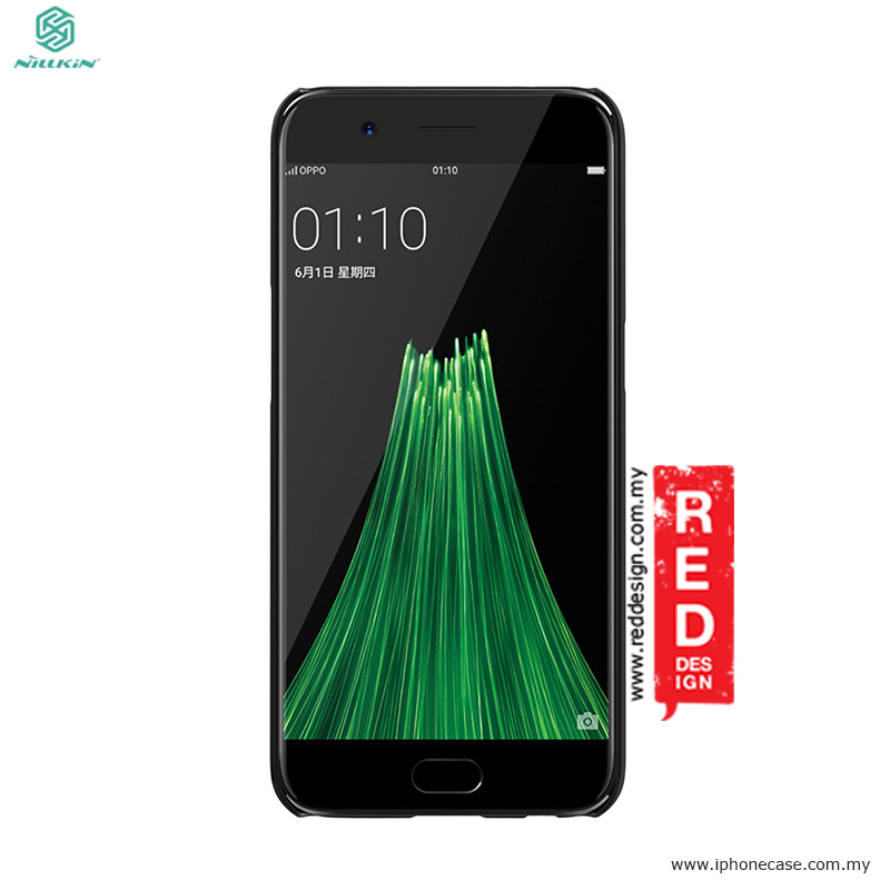 Picture of OPPO R11 Case | Nillkin Super Frosted Shield hard cover case for Oppo R11 - Black