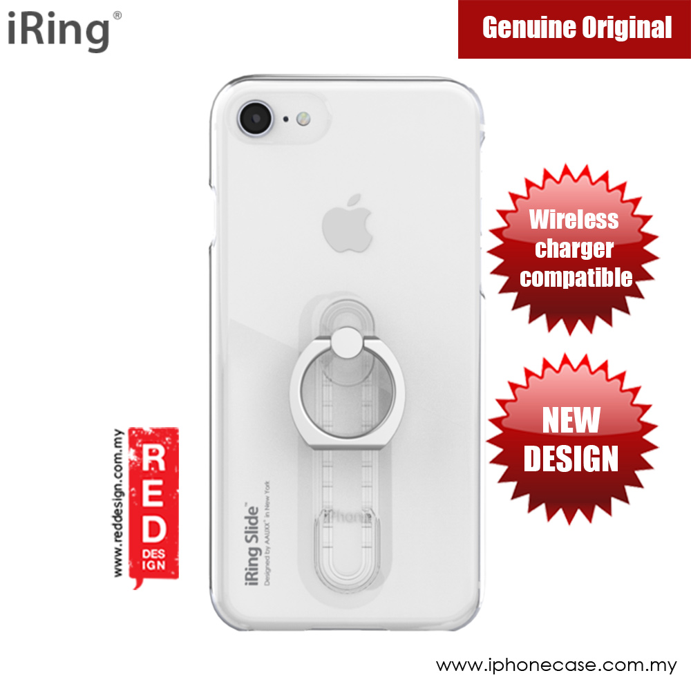 Picture of iRing Slide Built in iRing  for Apple iPhone 7 iPhone 8 (Clear) Apple iPhone 8- Apple iPhone 8 Cases, Apple iPhone 8 Covers, iPad Cases and a wide selection of Apple iPhone 8 Accessories in Malaysia, Sabah, Sarawak and Singapore