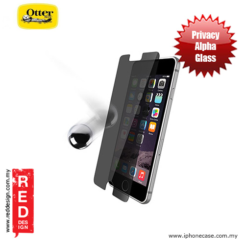 Picture of Otterbox Alpha Glass Screen Protector for iPhone 6 iPhone 6S 4.7 - Privacy Apple iPhone 6 4.7- Apple iPhone 6 4.7 Cases, Apple iPhone 6 4.7 Covers, iPad Cases and a wide selection of Apple iPhone 6 4.7 Accessories in Malaysia, Sabah, Sarawak and Singapore