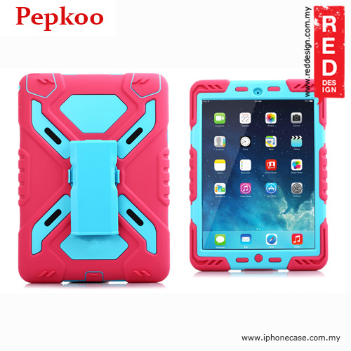 Picture of Pepkoo Drop Proof Protection Case for iPad Air 2 - Pink Apple iPad Air 2- Apple iPad Air 2 Cases, Apple iPad Air 2 Covers, iPad Cases and a wide selection of Apple iPad Air 2 Accessories in Malaysia, Sabah, Sarawak and Singapore