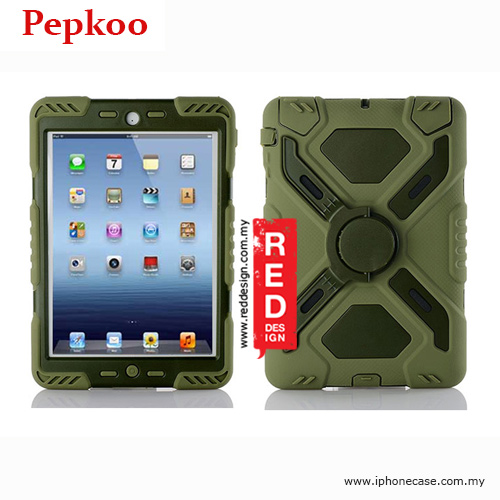 Picture of Pepkoo Drop Proof Protection Case for iPad Mini iPad Mini 2 & 3 - Army Green Apple iPad Mini- Apple iPad Mini Cases, Apple iPad Mini Covers, iPad Cases and a wide selection of Apple iPad Mini Accessories in Malaysia, Sabah, Sarawak and Singapore