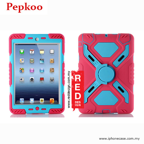 Picture of Pepkoo Drop Proof Protection Case for iPad Mini iPad Mini 2 & 3 - Pink Apple iPad Mini- Apple iPad Mini Cases, Apple iPad Mini Covers, iPad Cases and a wide selection of Apple iPad Mini Accessories in Malaysia, Sabah, Sarawak and Singapore