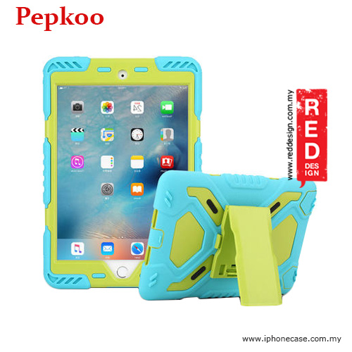 Picture of Pepkoo Drop Proof Protection Case for iPad Mini 4 - Blue Apple iPad Mini 4- Apple iPad Mini 4 Cases, Apple iPad Mini 4 Covers, iPad Cases and a wide selection of Apple iPad Mini 4 Accessories in Malaysia, Sabah, Sarawak and Singapore