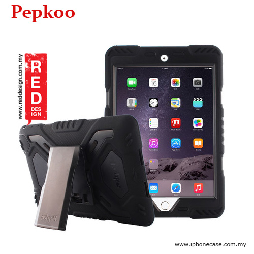 Picture of Pepkoo Drop Proof Protection Case for iPad Mini 4 - Black Apple iPad Mini 4- Apple iPad Mini 4 Cases, Apple iPad Mini 4 Covers, iPad Cases and a wide selection of Apple iPad Mini 4 Accessories in Malaysia, Sabah, Sarawak and Singapore