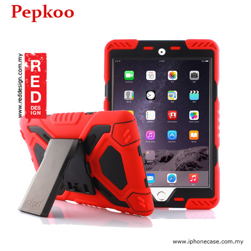 Picture of Pepkoo Drop Proof Protection Case for iPad Mini 4 - Red Apple iPad Mini 4- Apple iPad Mini 4 Cases, Apple iPad Mini 4 Covers, iPad Cases and a wide selection of Apple iPad Mini 4 Accessories in Malaysia, Sabah, Sarawak and Singapore