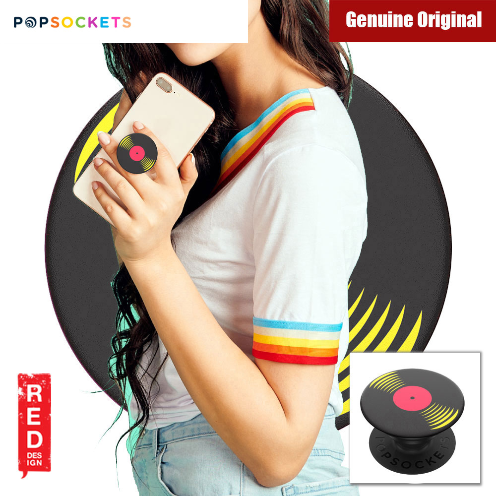 Picture of Popsockets A Phone Grip A Phone Stand An Earbud Management System (33RPM) Red Design- Red Design Cases, Red Design Covers, iPad Cases and a wide selection of Red Design Accessories in Malaysia, Sabah, Sarawak and Singapore