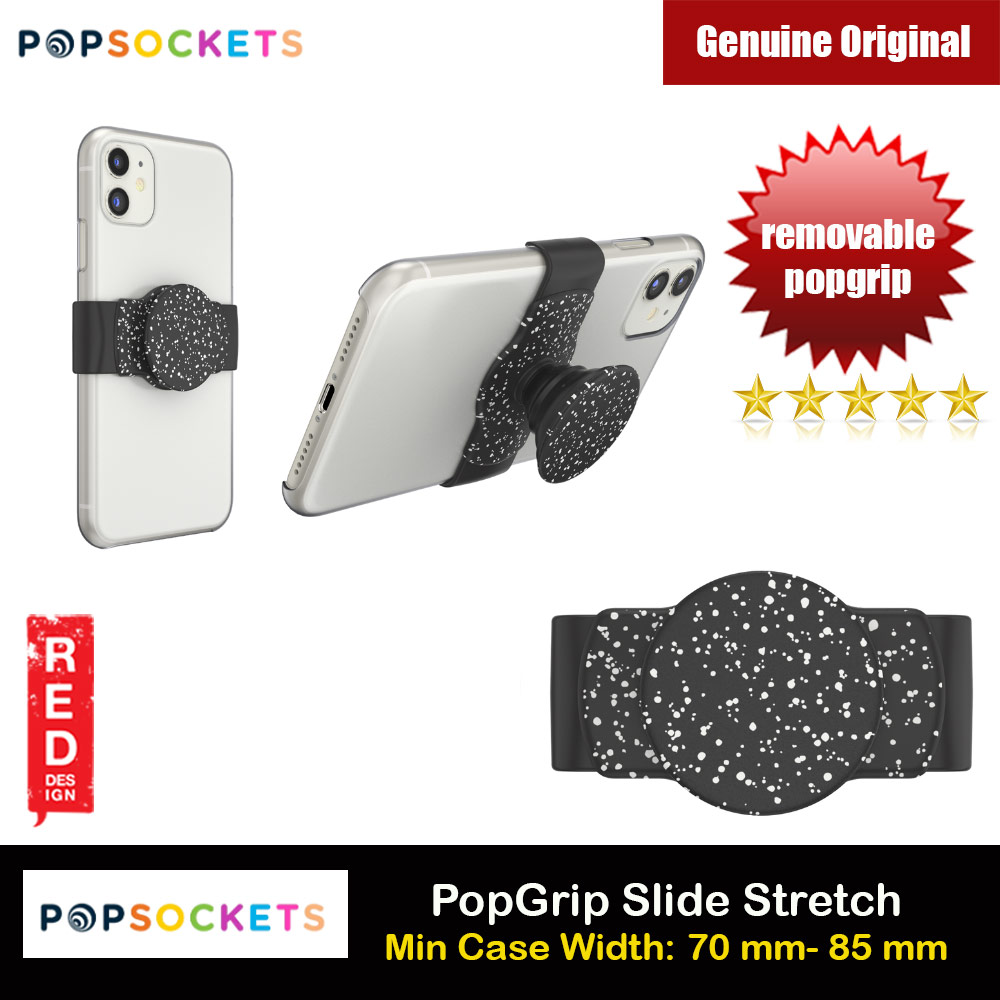 Picture of Popsockets PopGrip Slide Stretch Portable Detachable Phone Stand Phone Grip Holder (Black Kicks) Red Design- Red Design Cases, Red Design Covers, iPad Cases and a wide selection of Red Design Accessories in Malaysia, Sabah, Sarawak and Singapore