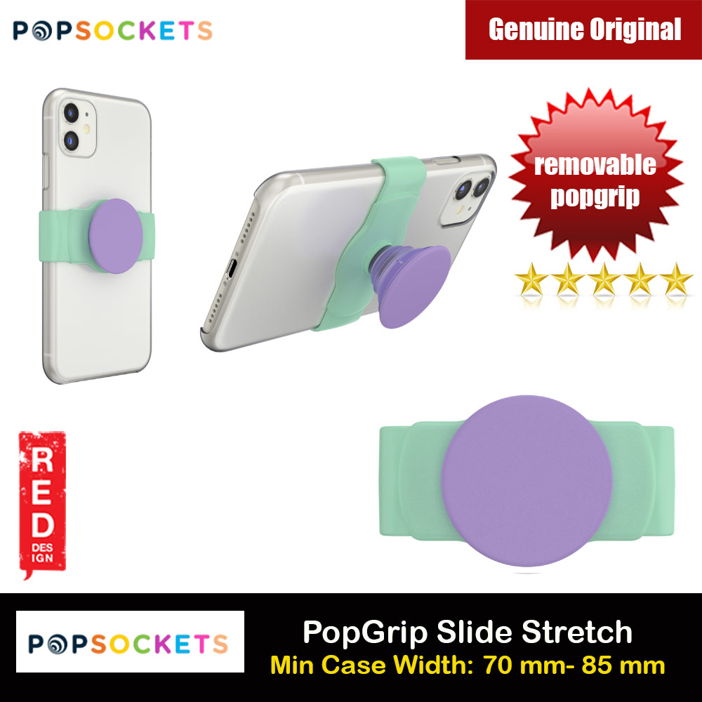 Picture of Popsockets PopGrip Slide Stretch Portable Detachable Phone Stand Phone Grip Holder (Iris Mint) Red Design- Red Design Cases, Red Design Covers, iPad Cases and a wide selection of Red Design Accessories in Malaysia, Sabah, Sarawak and Singapore