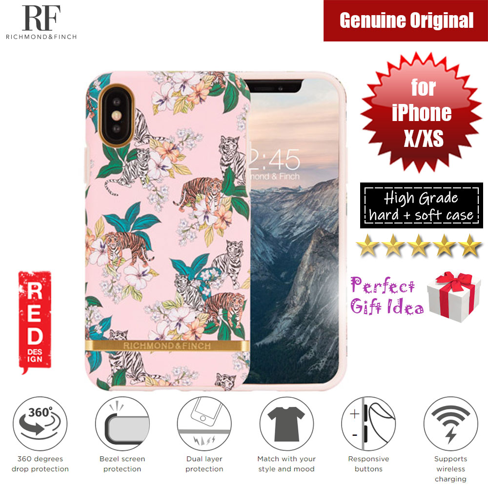 Picture of Richmond and Finch unique design for female protection case for Apple iPhone X iPhone XS (Pink Tiger Matte Surface) Apple iPhone XS- Apple iPhone XS Cases, Apple iPhone XS Covers, iPad Cases and a wide selection of Apple iPhone XS Accessories in Malaysia, Sabah, Sarawak and Singapore