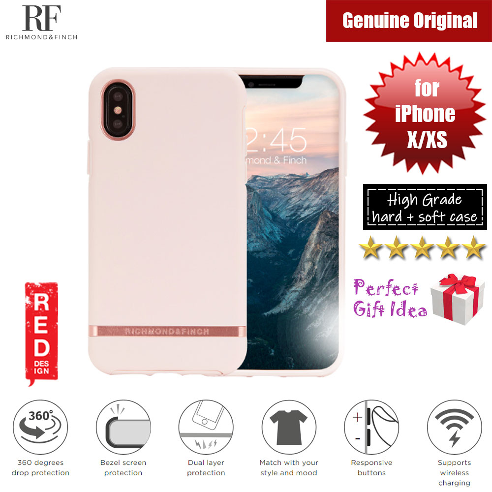 Picture of Richmond and Finch unique design protection case for Apple iPhone X iPhone XS (Pink Rose Matte Surface) Apple iPhone X- Apple iPhone X Cases, Apple iPhone X Covers, iPad Cases and a wide selection of Apple iPhone X Accessories in Malaysia, Sabah, Sarawak and Singapore
